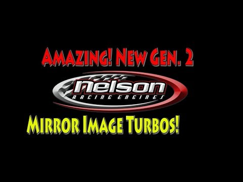 NRE's Amazing New Fast spooling 60 mm Mirror Image Turbo!  Better performance.