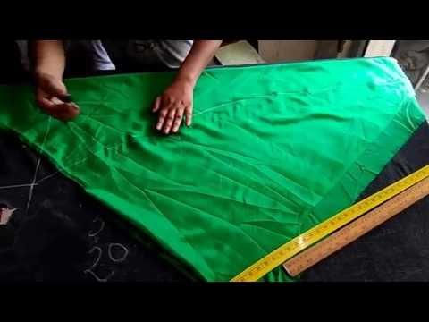 Ladies churidaar pajami cutting&stitching in hindi