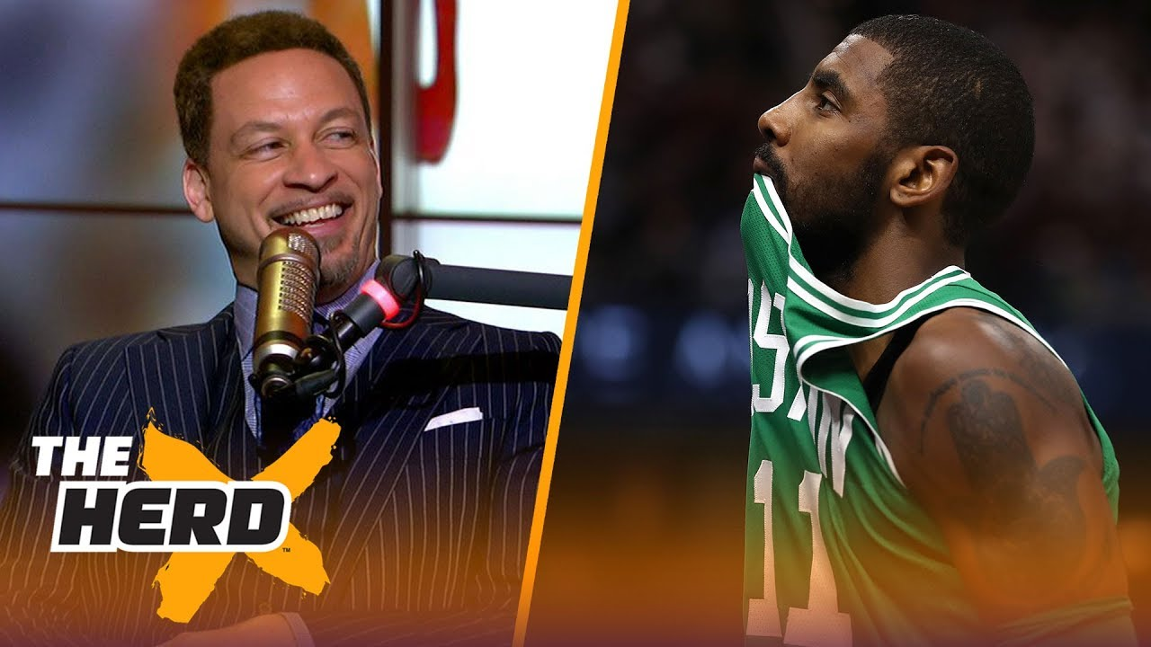 Chris Broussard on why Kyrie needed LeBron to succeed, Carmelo's next team | NBA | THE HERD