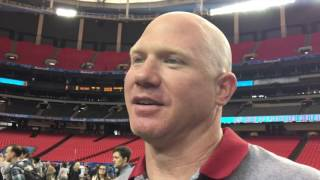 Scott Cochran at Chick-fil-A Peach Bowl media days