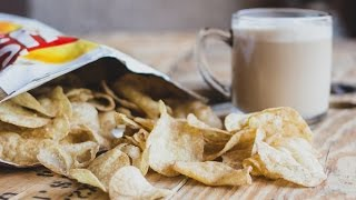 Irritating Girls And Melv's Capuccino Crisps - Kiss Breakfast Takeaway
