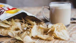 Irritating Girls And Melv's Capuccino Crisps - Kiss Breakfast Takeaway