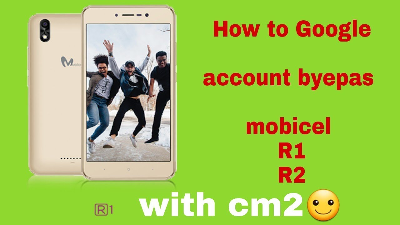 How to Google account byepas Mobicel R1 and R2 how to frp remove mobicel r1  R2 with cm2