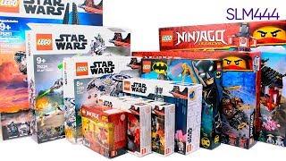 НОВЫЕ НАБОРЫ LEGO! Star Wars, Super Heroes, Ninjago 2019 | LEGO-Unboxing #8