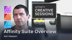 An overview of the Affinity suite with Ash Hewson