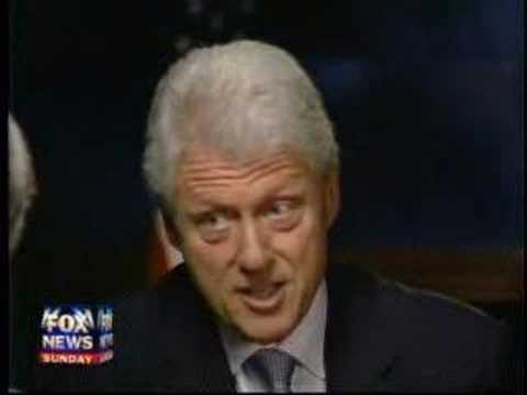 Chris Wallace Interviews Bill Clinton Part 1