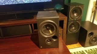 Kef Coda 7 Speakers Demo