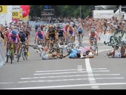 CYCLING CRASHES