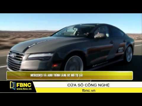 Mercedes và Audi trình làng xe hơi tự lái