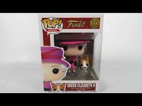 Funko Pop Vinyl Royals Queen Elizabeth II  Unboxing