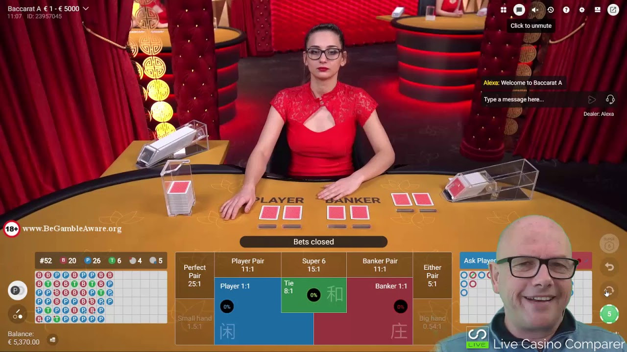 Pragmatic Play Live Baccarat Review - YouTube