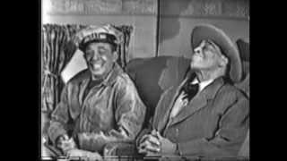 AMOS & ANDY. Kingfish's Flight Insurance. Live 1952 Kinescope Segment