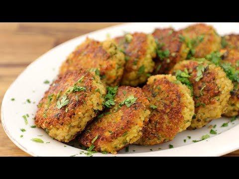 How to Make Quinoa Patties | Quinoa Cakes Recipe