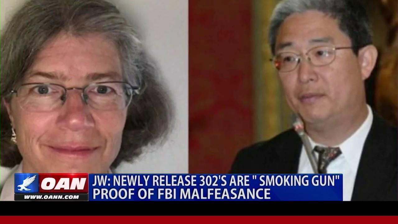 "Judicial Watch: Newly release 302's are "" smoking gun"" proof of FBI malfeasance"