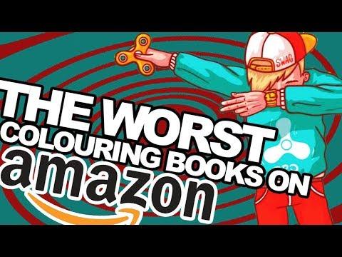 the WORST colouring books on AMAZON - 동영상