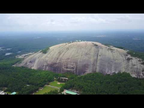 Stone Mountain Drone Video