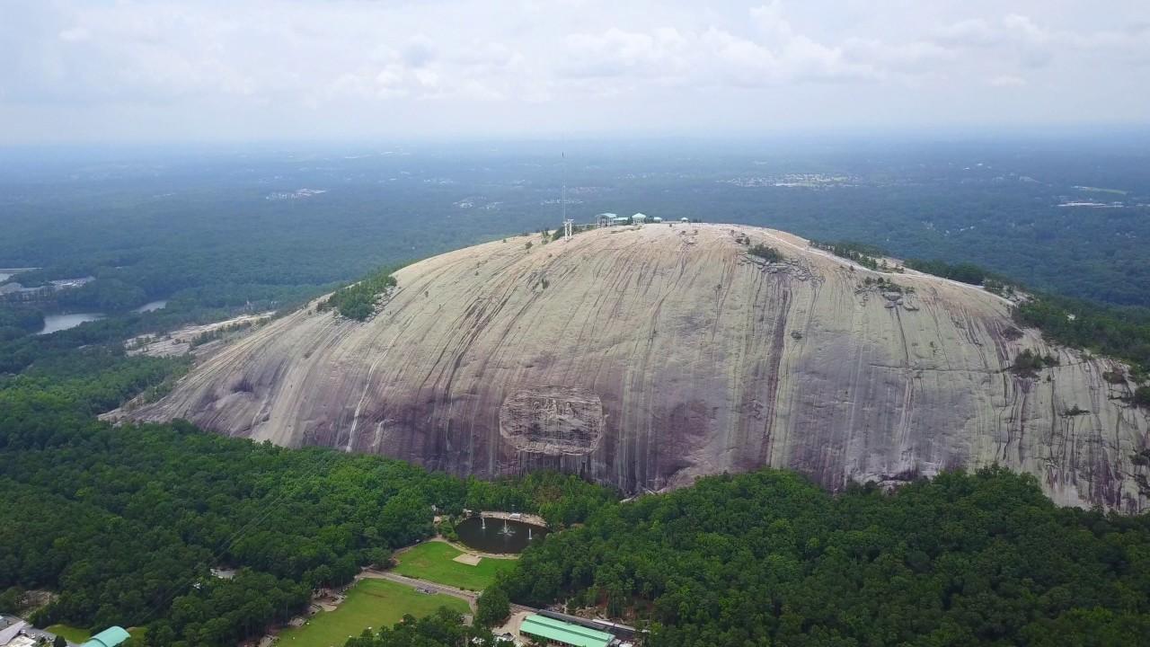 Stone Mountain Elevation : Stone mountain drone video youtube