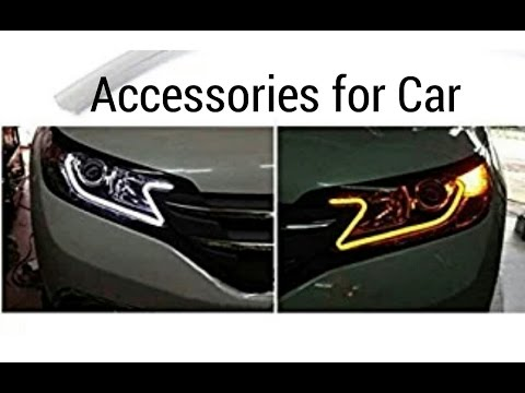 Car Accessories for Renault kwid drl - YouTube