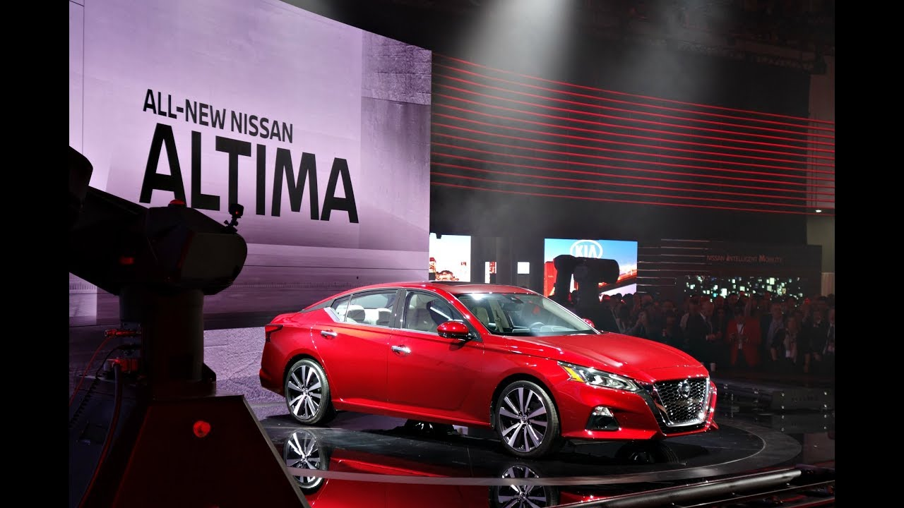 Nissan Altima Platinum Unveiling NYC Int Auto Show - Car show 2018 nyc