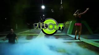 Flip Out Lakeside UK's Most Advanced Trampoline Arena  Ninja Skills Park