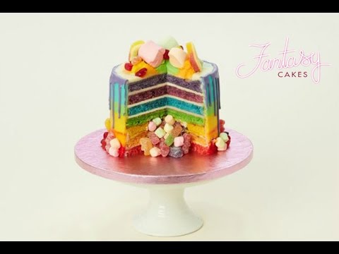 How To Make The Sweet Shop Cake Youtube