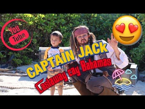 #Disneycruise #Dream #castaway Captain Jack