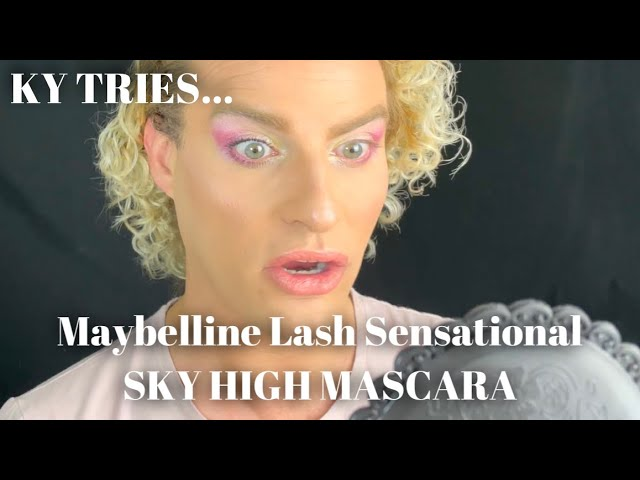 Maybelline Lash Sensational Sky High Mascara - First Impression Makeup Review. Not Spons.