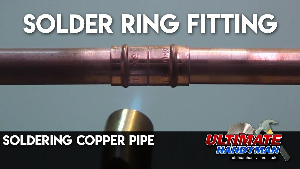 Image Gallery Soldering Pipe