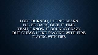 Thomas Rhett ft. Jordan Sparks - Playing with Fire Lyrics