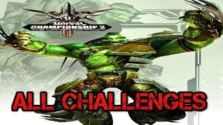 Unreal Championship 2: The Liandri Conflict ALL CHALLENGES XBOX