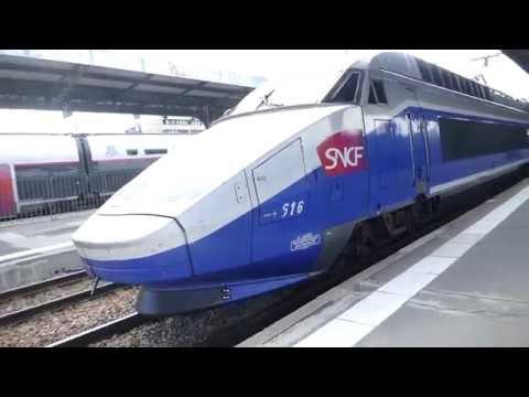 TGV Réseau 616 28 632 pulls in to Gare de Lyon