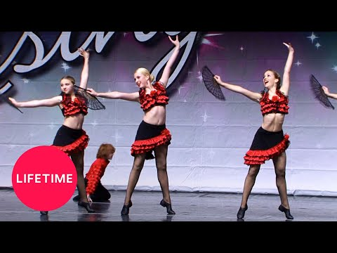 "Dance Moms: Candy Apple Group Dance - ""Baila Hispañola"" (Season 2 Flashback) 
