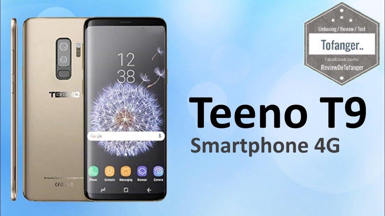 Teeno S8 écran 5 72 Smartphone 4g Youtube
