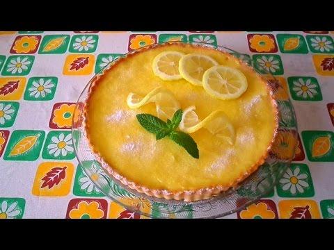 tarte au citron/ ثارث الليمون المنعشة باسهل طريقة