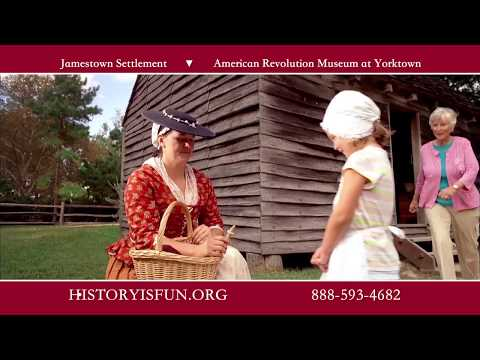 Visit Jamestown Settlement and American Revolution Museum at