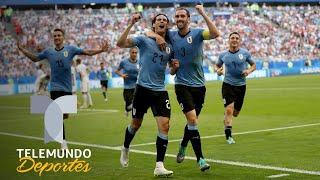 Uruguay le dio continuidad a su cara sólida durante el Mundial   Qué momento   Telemundo Deportes