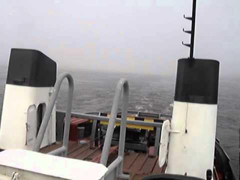 видео: туман на оби. теплоход РТ-600