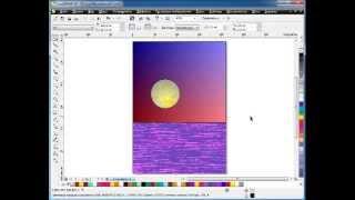 Видео уроки CorelDraw  Заливка в программе CorelDraw