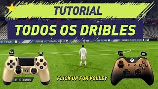 FIFA 18 | TUTORIAL TODOS DRIBLES | ALL SKILLS FIFA 18 (PS4/PS3 e XBOX ONE/360)