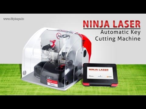 Ninja Laser Key Cutting Machine (Demonstration)
