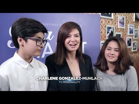 ABS-CBN Film Restoration: Charlene Gonzales & Kids Interview
