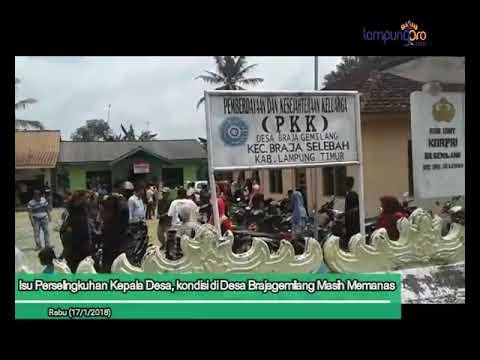 Video: Dugaan Perselingkuhan Kepala Desa Brajagemilang Masih Memanas