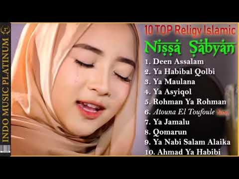 TOP 10 NISSA SABYAN   Urutan Lagu Sabyan Terpopuler