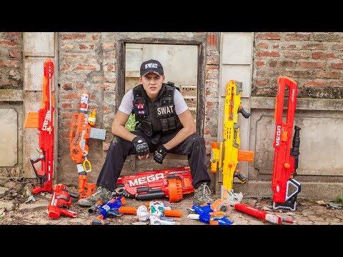 Nerf Guns War :  Gun Battle Of S.W.A.T TTNerf Team Special Attack Boss XX Criminal Dangerous Ep.1