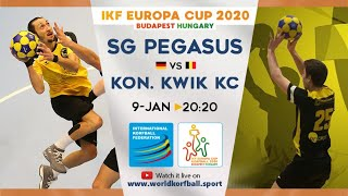 IKF ECup 2020 SG Pegasus - Kon. Kwik KC
