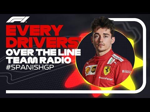 Every Driver's Race Finish Team Radio | 2021 Spanish Grand Prix