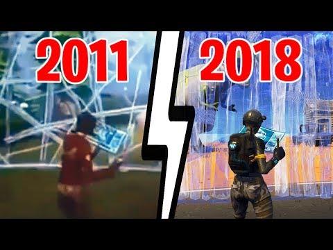 Fortnite Rewind 2011-2018: Die Entwicklung von Fortnite!