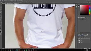 Adobe Photoshop: how to remove wrinkles from clothing