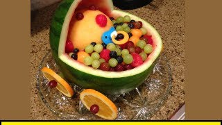 How To Make A Watermelon Bassinet (howtolou.com)