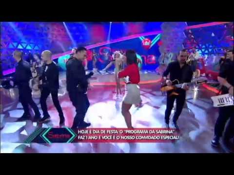 programa da sabrina Na Maldade Sorriso Maroto e Anitta dividem palco do Programa da Sabrina 06 06 20